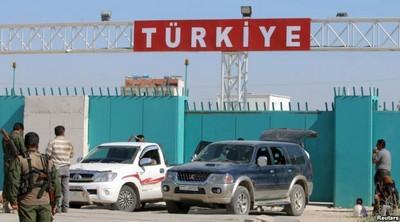 турецко-сирийский граница