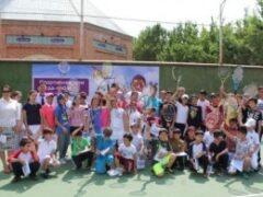 В Душанбе прошел теннисный турнир от Tcell и Гостиницы «Серена»