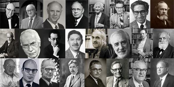Известные психологи ХХ века