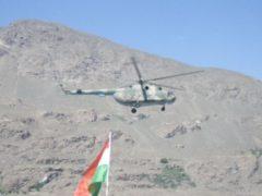 Таджикско-китайские учения на высокогорном полигоне «Джелонди» в ГБАО