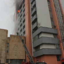 В здании ГЖК произошел пожар
