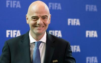 Джанни Инфантино поблагодарил Рустами Эмомали за вклад в развитие футбола