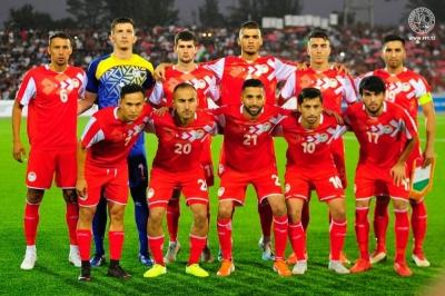 Национальная сборная Таджикистана по футболу завершила 2020 год на 121-м месте в рейтинге ФИФА