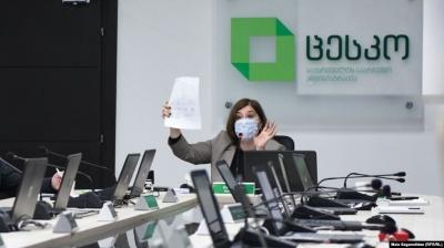 Правящая партия получила 90 из 150 мандатов в парламенте на выборах в Грузии