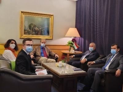 Посол Таджикистана встретился с Руководителем Международного комитета Красного Креста в Сирийской Арабской Республике