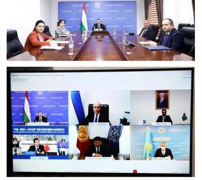 Встреча заместителей глав МИД стран Центральной Азии, Китая и Афганистана состоялась в режиме видеоконференции
