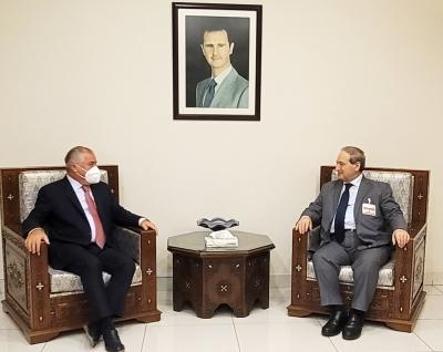 В Дамаске обсудили вопросы репатриации граждан Таджикистана из сирийского лагеря  Аль-Хол