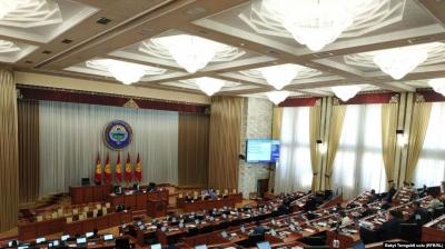 Парламент КР принял проект закона о назначении всенародного голосования